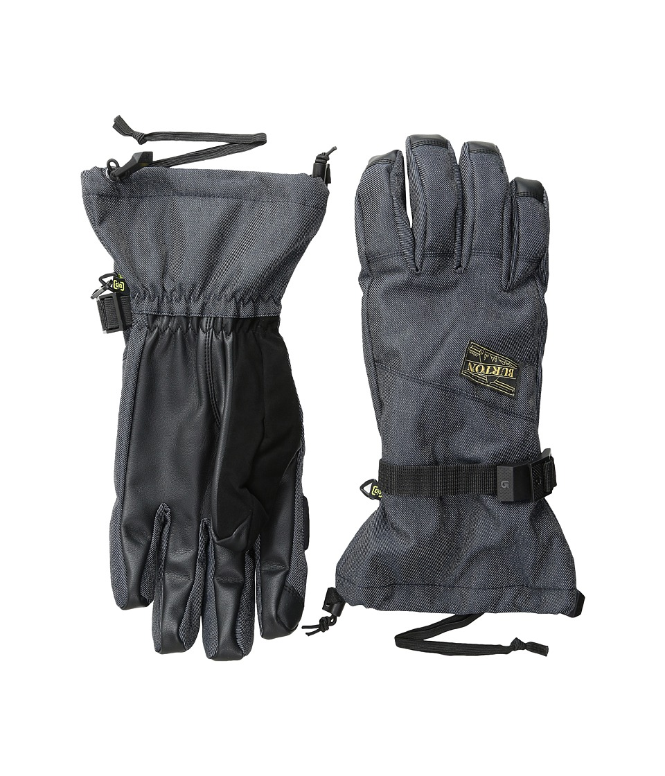 Burton - Approach Glove (Denim) Snowboard Gloves
