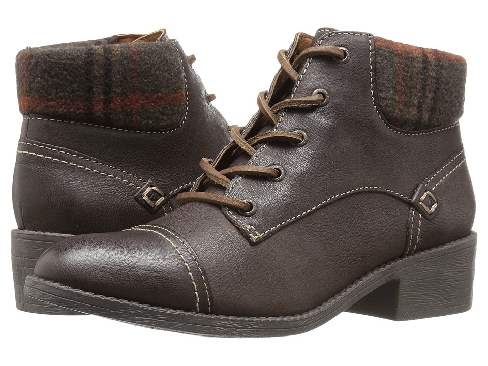 Sperry - Juniper Quay (Khaki) Women's Dress Lace-up Boots