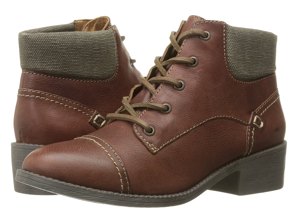 Sperry - Juniper Quay (Tan) Women's Dress Lace-up Boots