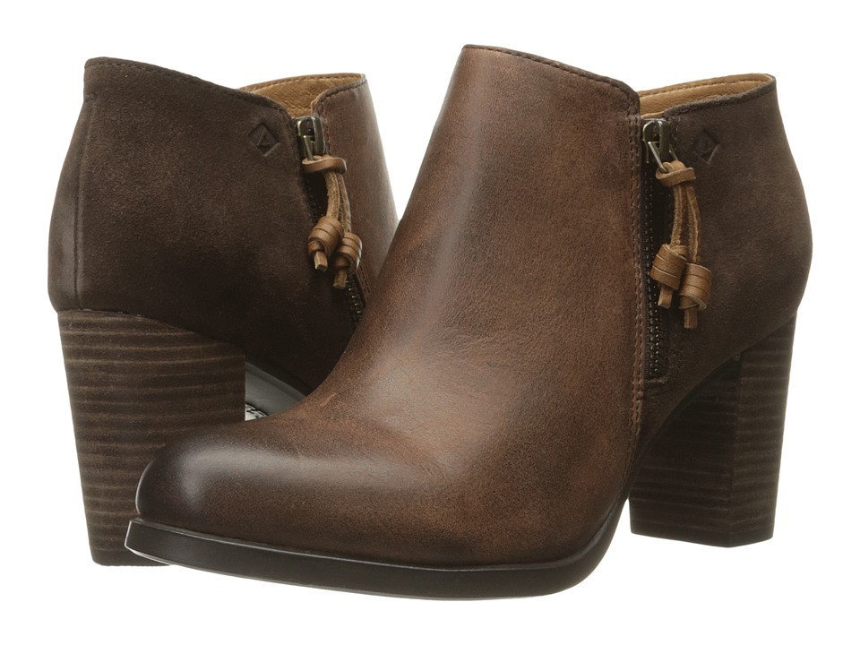 Sperry - Dasher Lille (Dark Brown) Women's Pull-on Boots