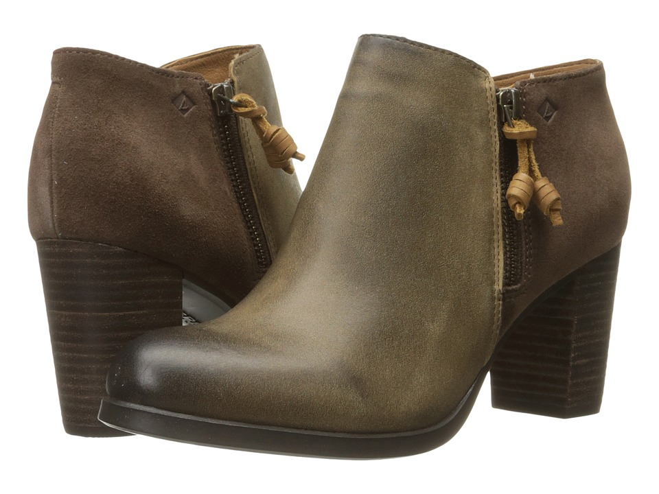 Sperry - Dasher Lille (Khaki) Women's Pull-on Boots