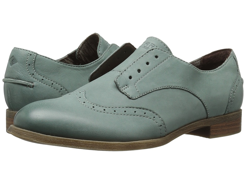 Sperry - Victory Gill (Sage Green) Women's Shoes