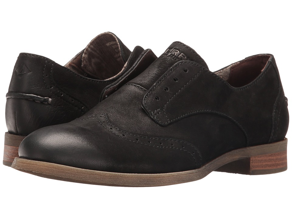 Sperry - Victory Gill (Black) Women's Shoes