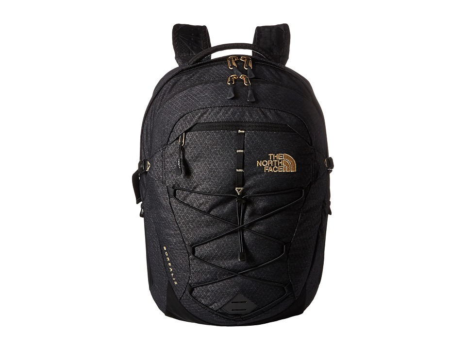 The North Face - Women's Borealis (TNF Black/24k Gold) Backpack Bags
