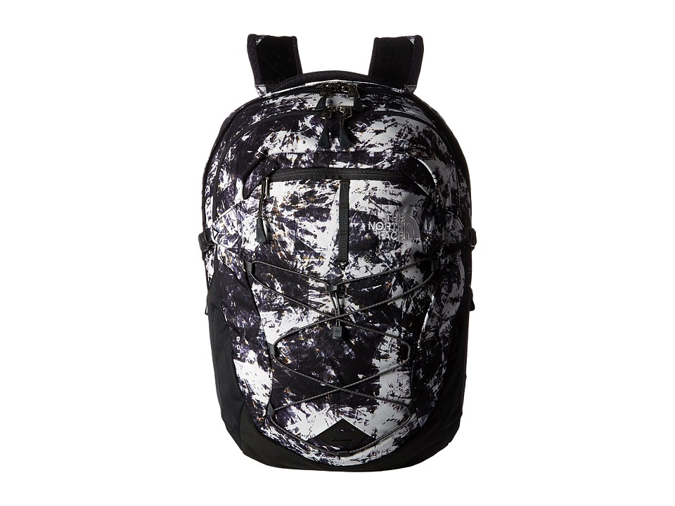The North Face - Women's Borealis (Diamond Life Print/Asphalt Grey) Backpack Bags