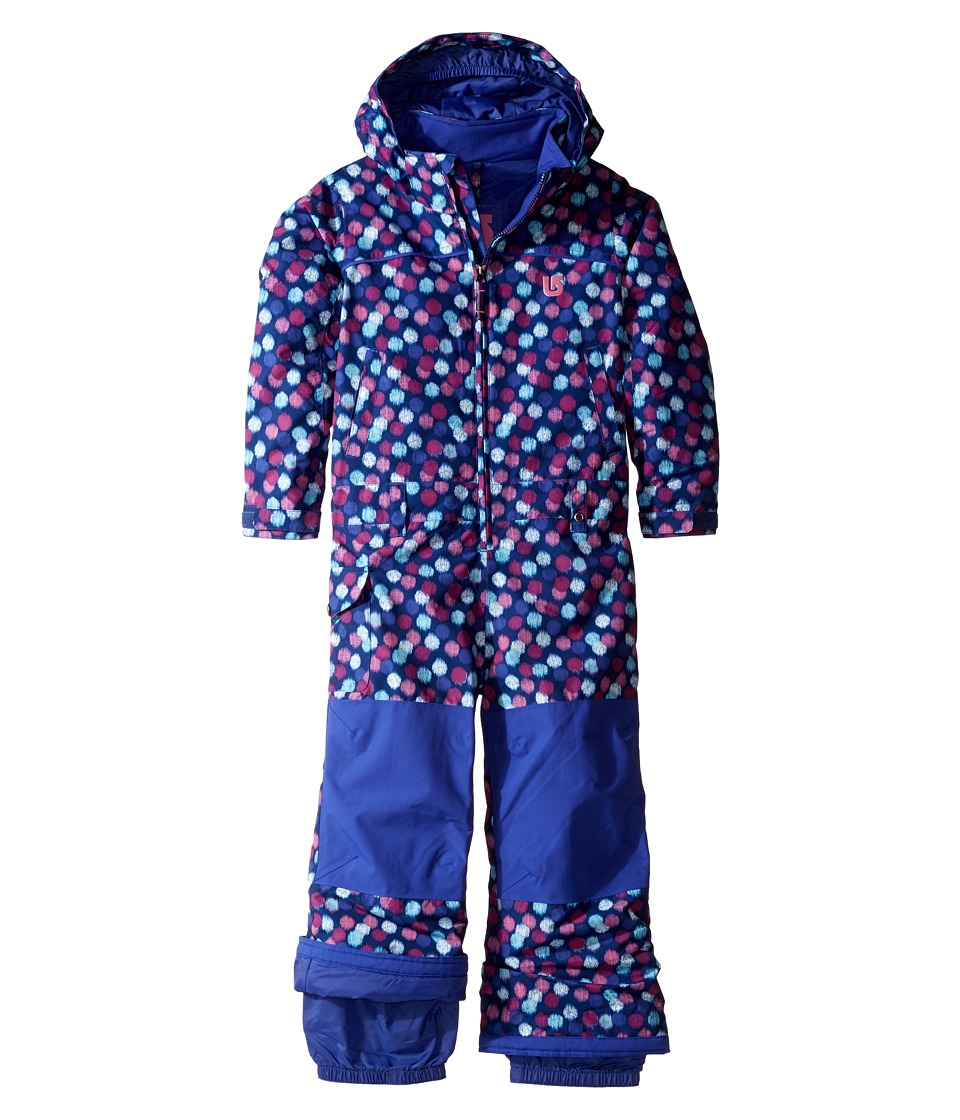 Burton Kids - Girls Minishred Illusion One-Piece (Toddler/Little Kids) (Ikat Dot) Girl's Snow Bibs One Piece