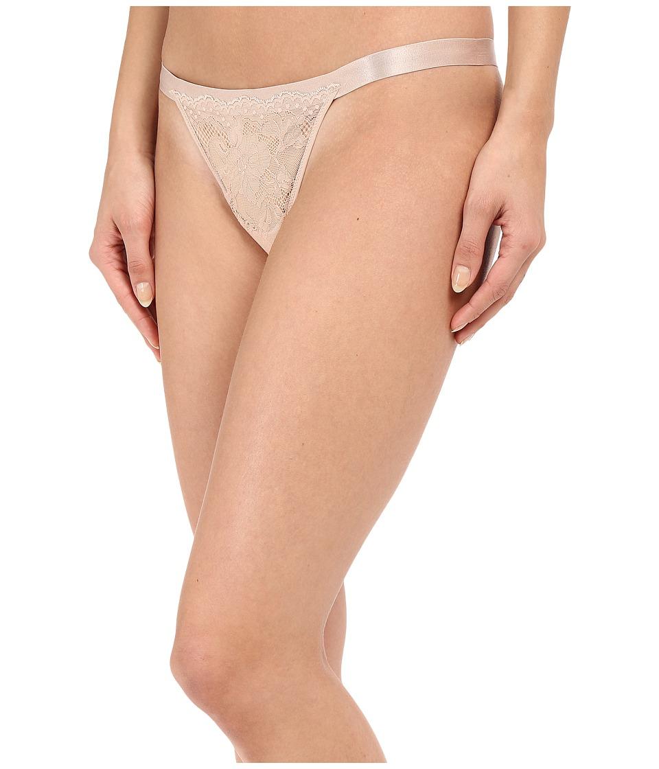 OnGossamer - Lace Thong G2050 (Champange) Women's Underwear