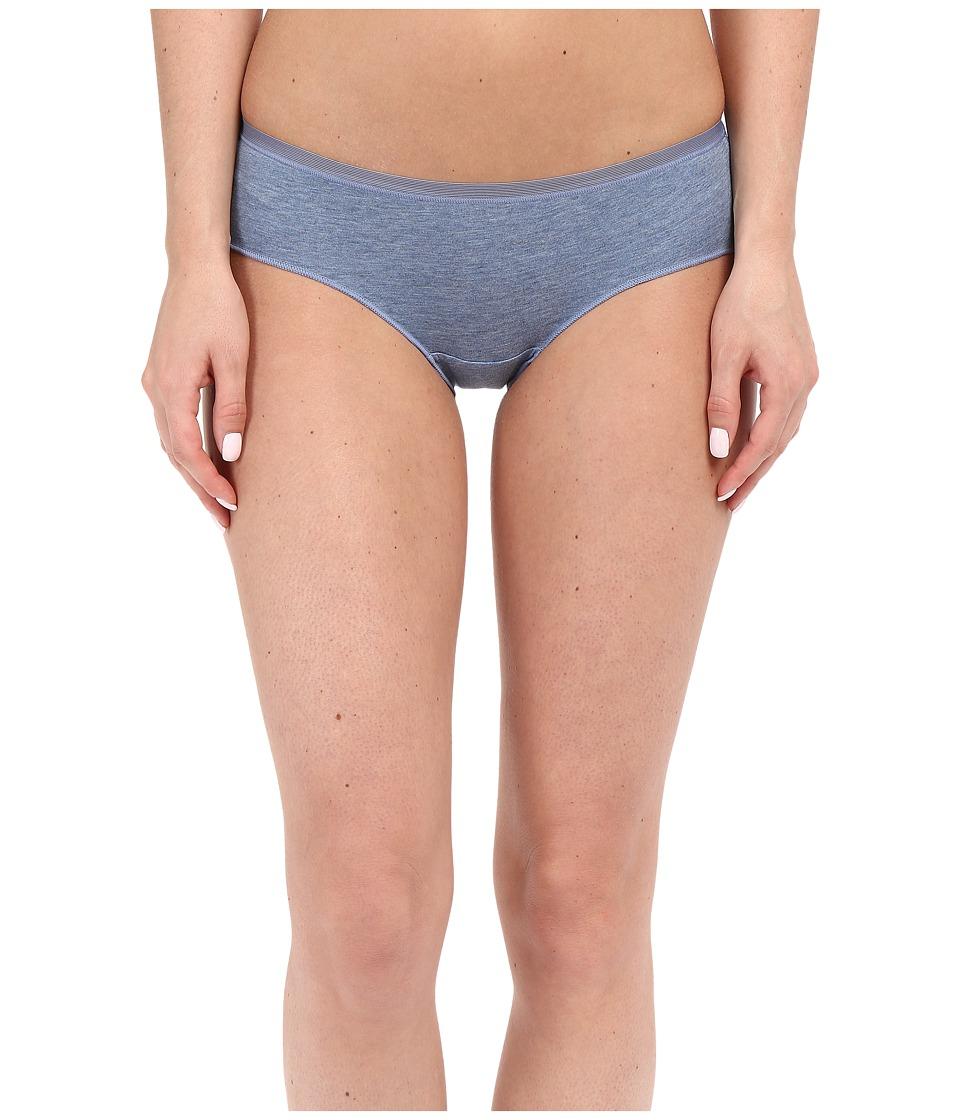 OnGossamer - Cabana Cotton Lounge Hipster G0052 (Denim Heather) Women's Underwear