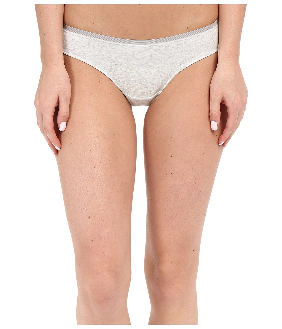 OnGossamer - Cabana Cotton Lounge Thong G2052 (Light Grey Heather) Women's Underwear