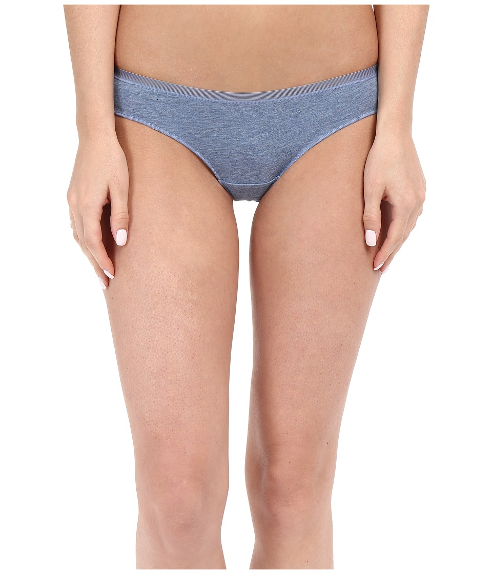 OnGossamer - Cabana Cotton Lounge Thong G2052 (Denim Heather) Women's Underwear