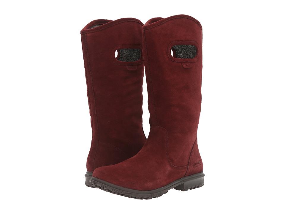 Bogs - Betty Tall (Ox Blood) Women's Waterproof Boots