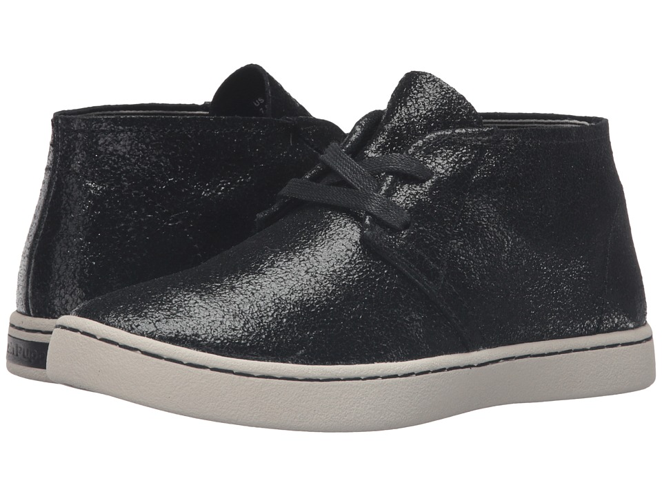 Hush Puppies Cille Gwen (Black Crackled Suede) Women