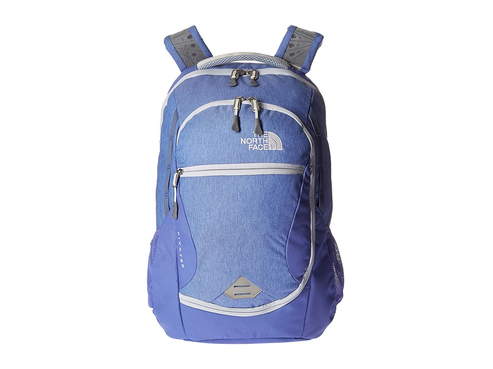 The North Face - Pivoter (Stellar Blue Heather/Arctic Ice Blue) Backpack Bags