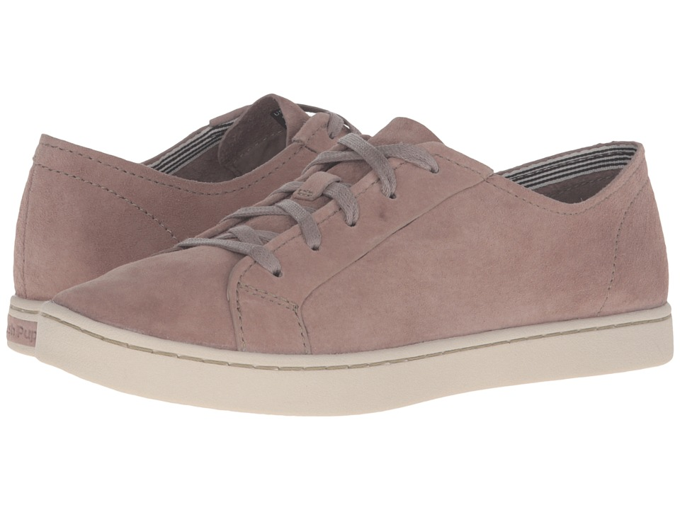 Hush Puppies - Ekko Gwen (Taupe Suede) Women's Lace up casual Shoes