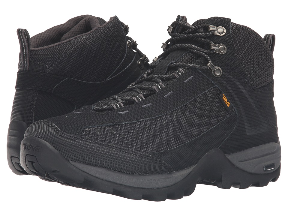 Teva - Raith III Mid WP (Black) Men's Shoes