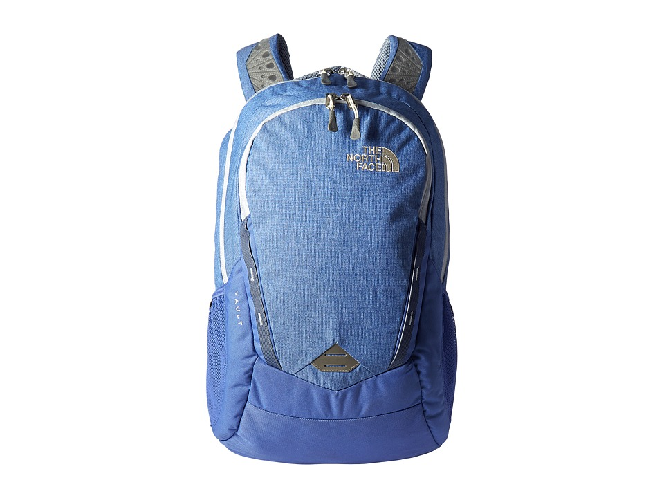 The North Face - Women's Vault (Stellar Blue Heather/Arctic Ice Blue) Backpack Bags