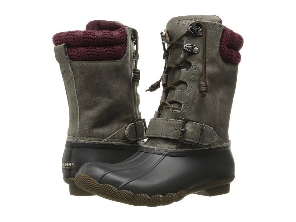 Sperry - Saltwater Misty (Dark Grey/Stone) Women's Rain Boots