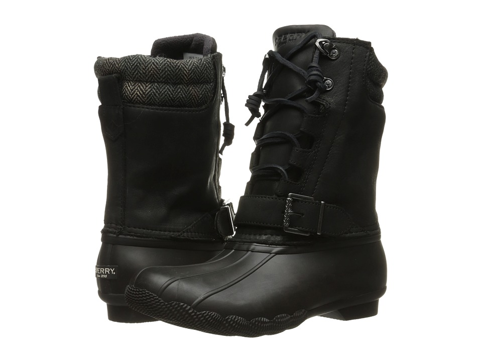 Sperry - Saltwater Misty (Black) Women's Rain Boots