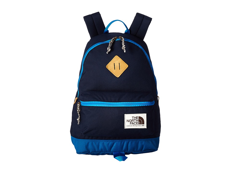 The North Face - Mini Berkeley (Little Kid/Big Kid) (Cosmic Blue/Blue Aster) Backpack Bags