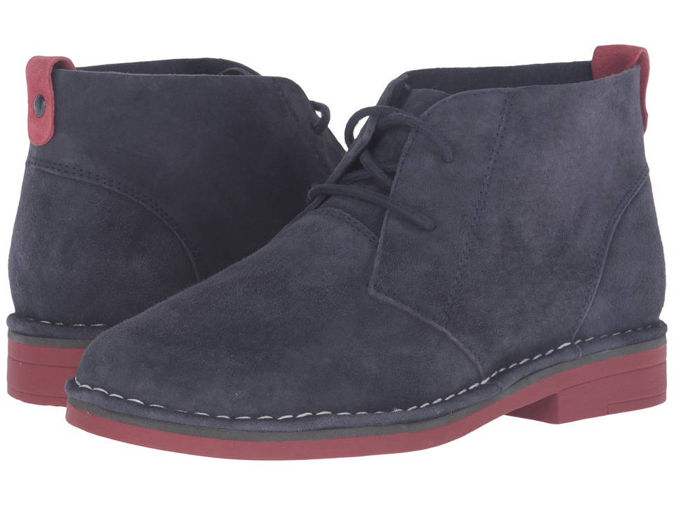 Hush Puppies Cyra Catelyn (Navy Suede 1) Women