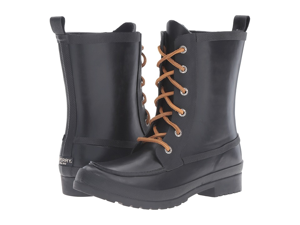 Sperry - Walker Wisp (Black) Women's Lace-up Boots