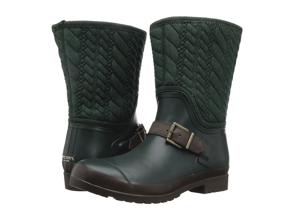 Sperry - Walker Gray Rope Emboss Neoprene (Green) Women's Boots