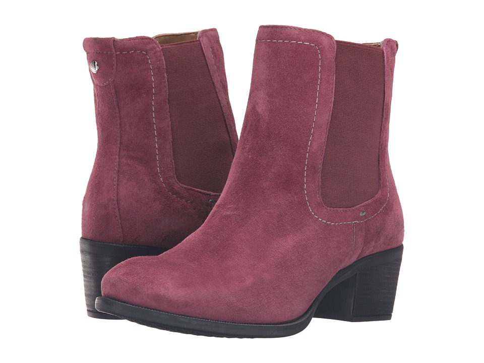 Hush Puppies - Landa Nellie (Wine Suede) Women's Pull-on Boots