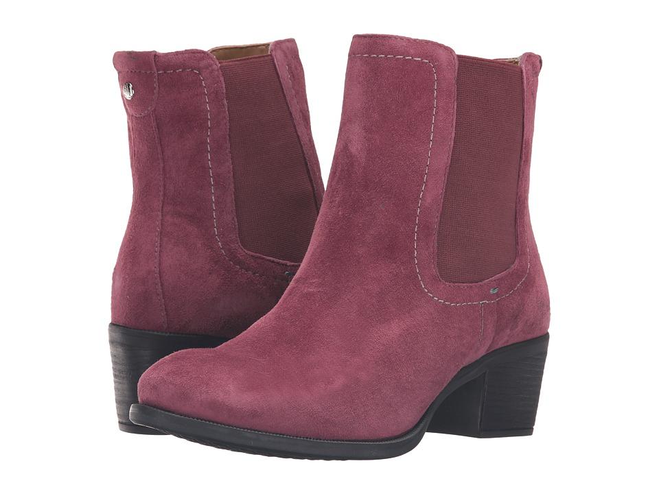 Hush Puppies - Landa Nellie (Wine Suede) Women's Pull-on Boots