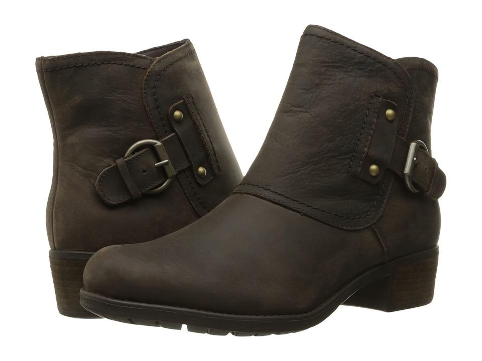 Hush Puppies - Proud Overton (Dark Brown WP Leather) Women's Boots