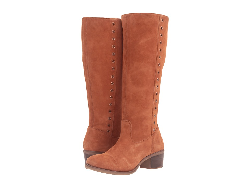 Hush Puppies - Ideal Nellie (Cognac Suede) Women's Boots