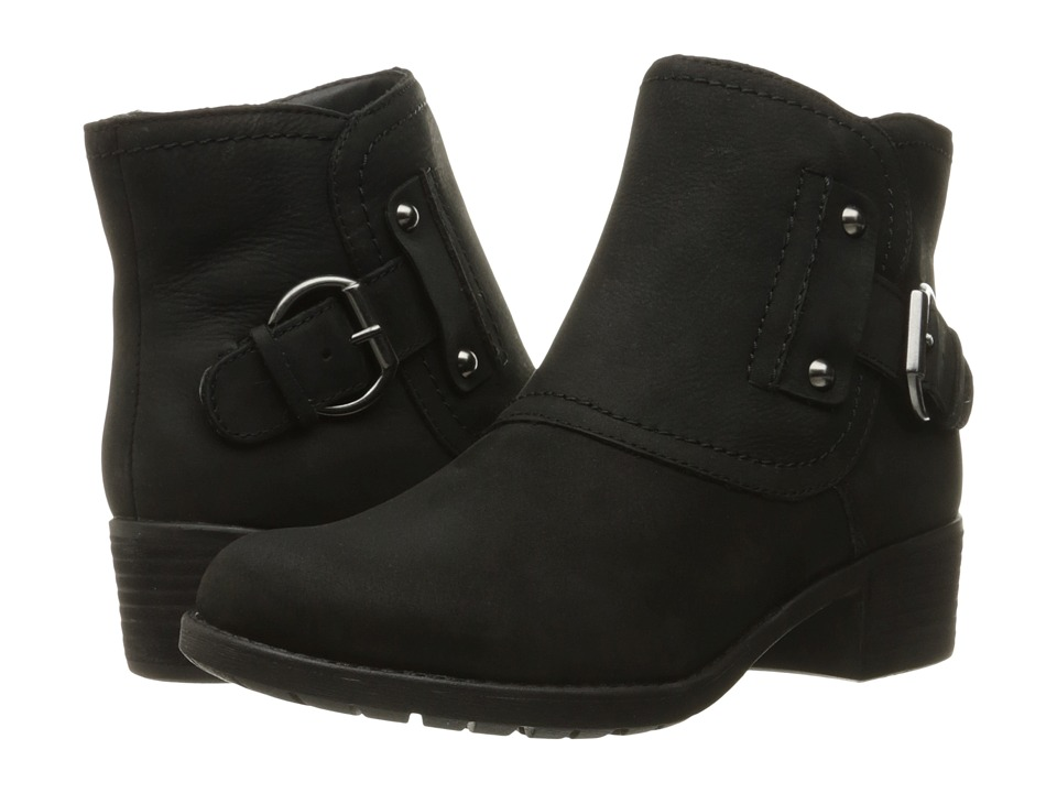 Hush Puppies - Proud Overton (Black WP Leather) Women's Boots