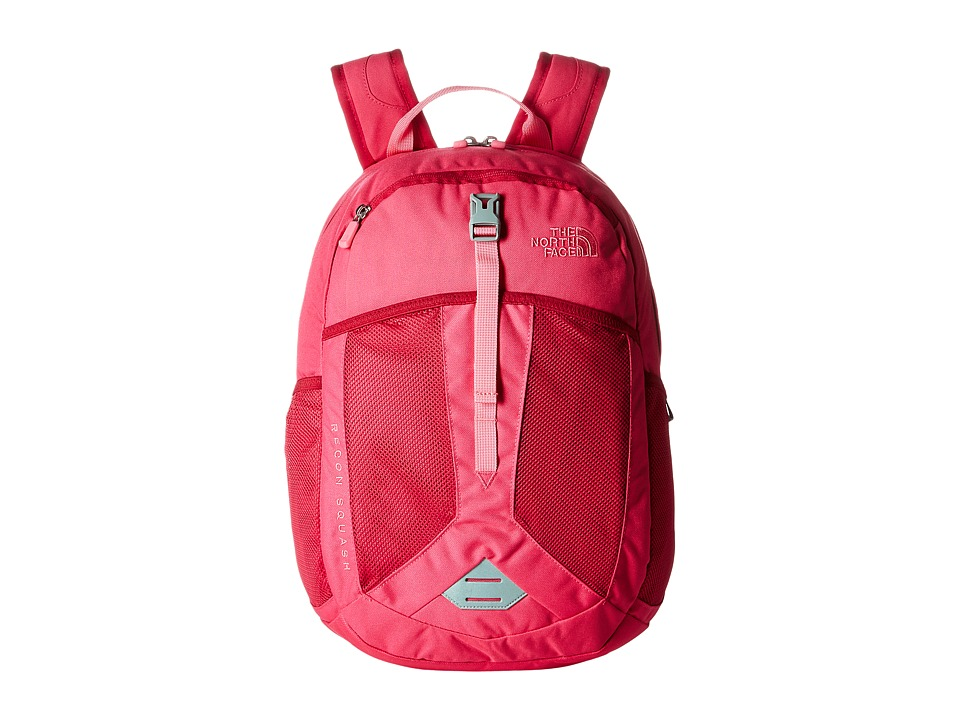The North Face - Recon Squash (Big Kid) (Cabaret Pink/Cha Cha Pink) Backpack Bags