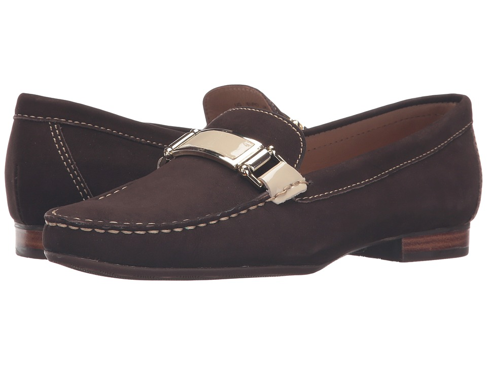 Hush Puppies Batley Dalila (Brown Nubuck) Women