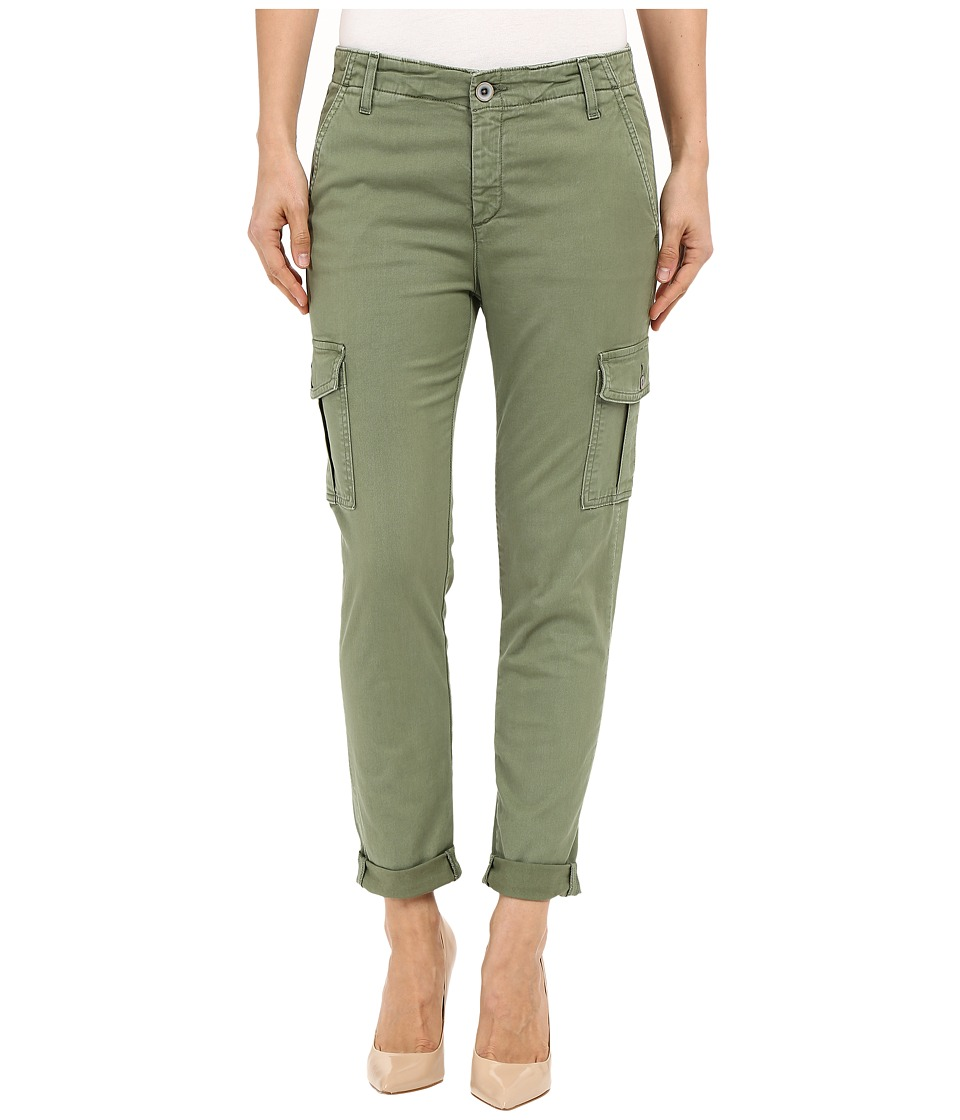 AG Adriano Goldschmied - The Pepper in Sulfur Dried Sage (Sulfur Dried Sage) Women's Jeans