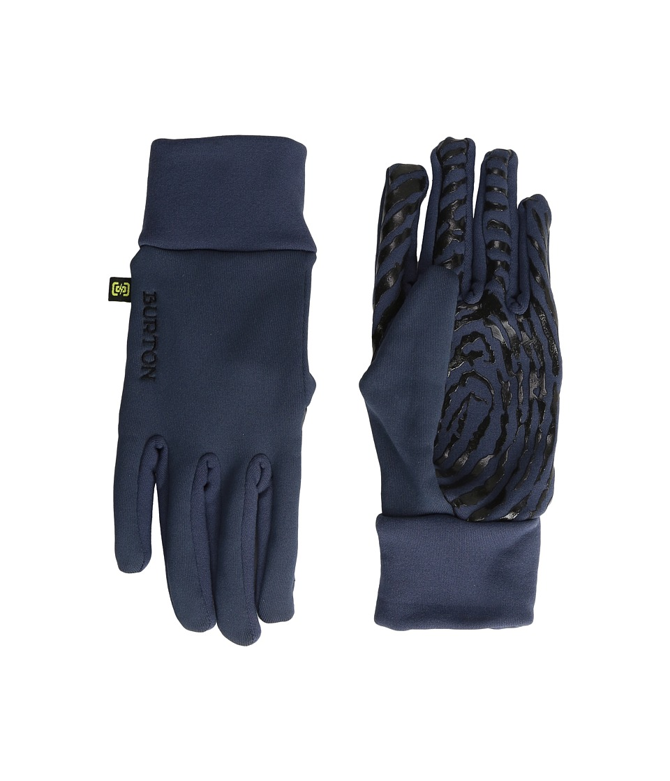 Burton - Powerstretch Liner (Mood Indigo) Extreme Cold Weather Gloves