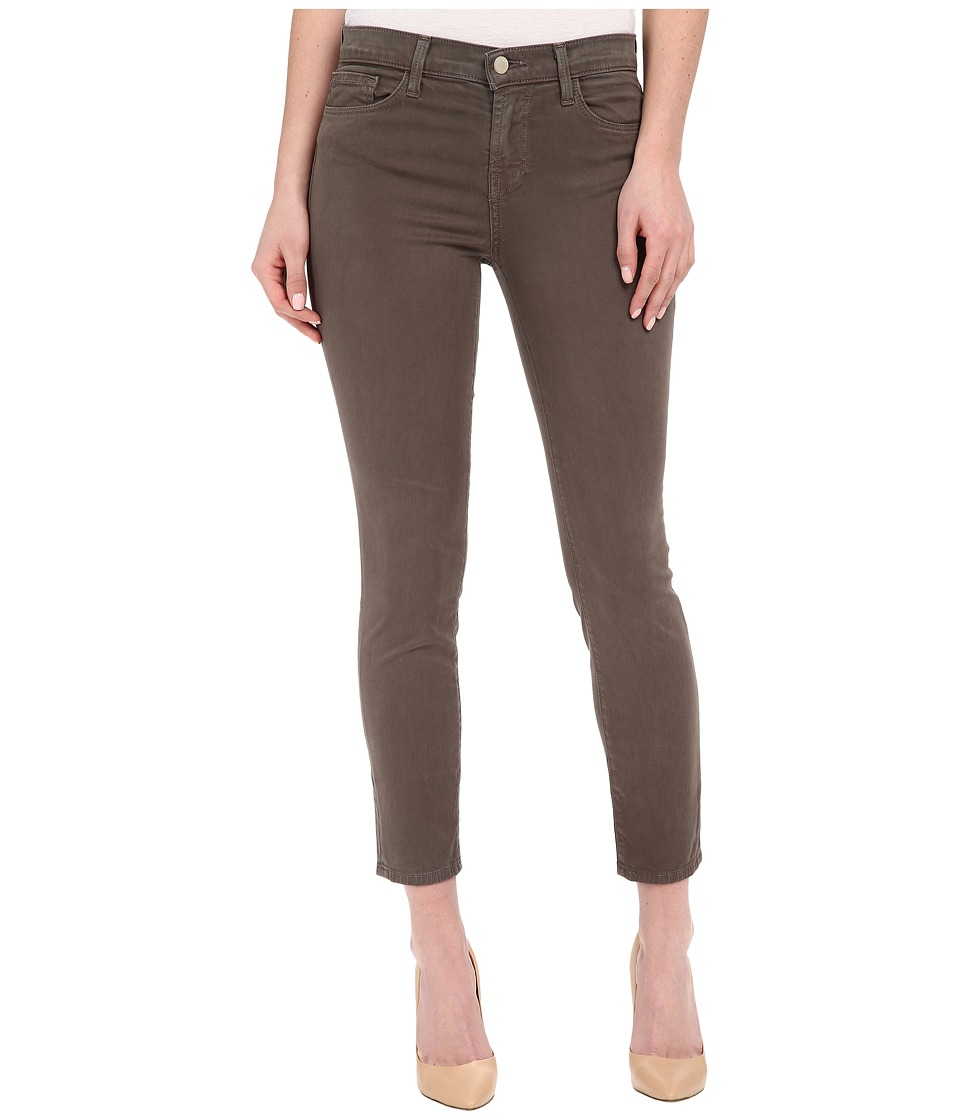J Brand - Mid-Rise Capris in Trooper (Trooper) Women