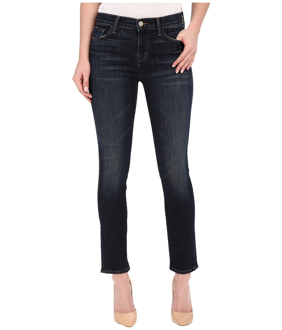 J Brand - Mid-Rise Crop Rail in Reserved (Reserved) Women's Jeans