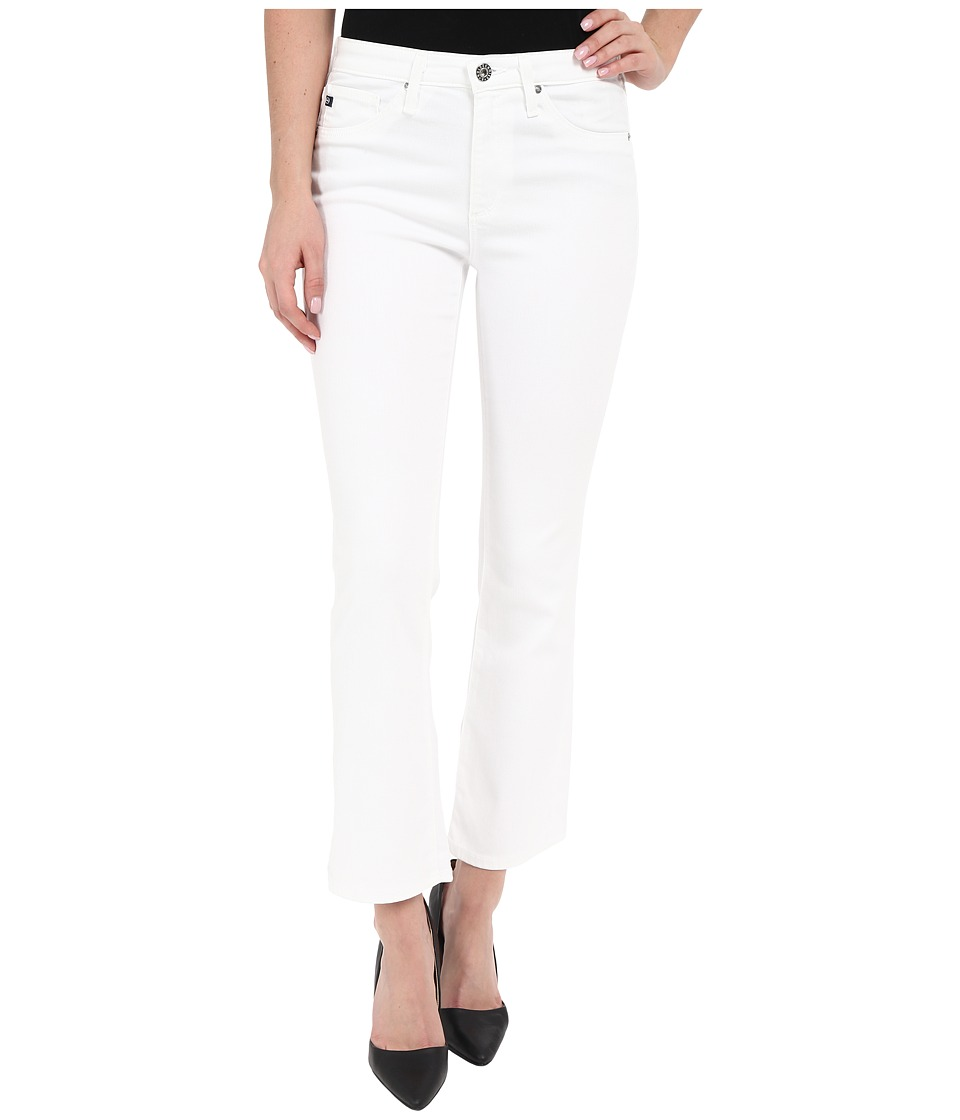 AG Adriano Goldschmied - The Jodi Crop in White (White) Women's Jeans