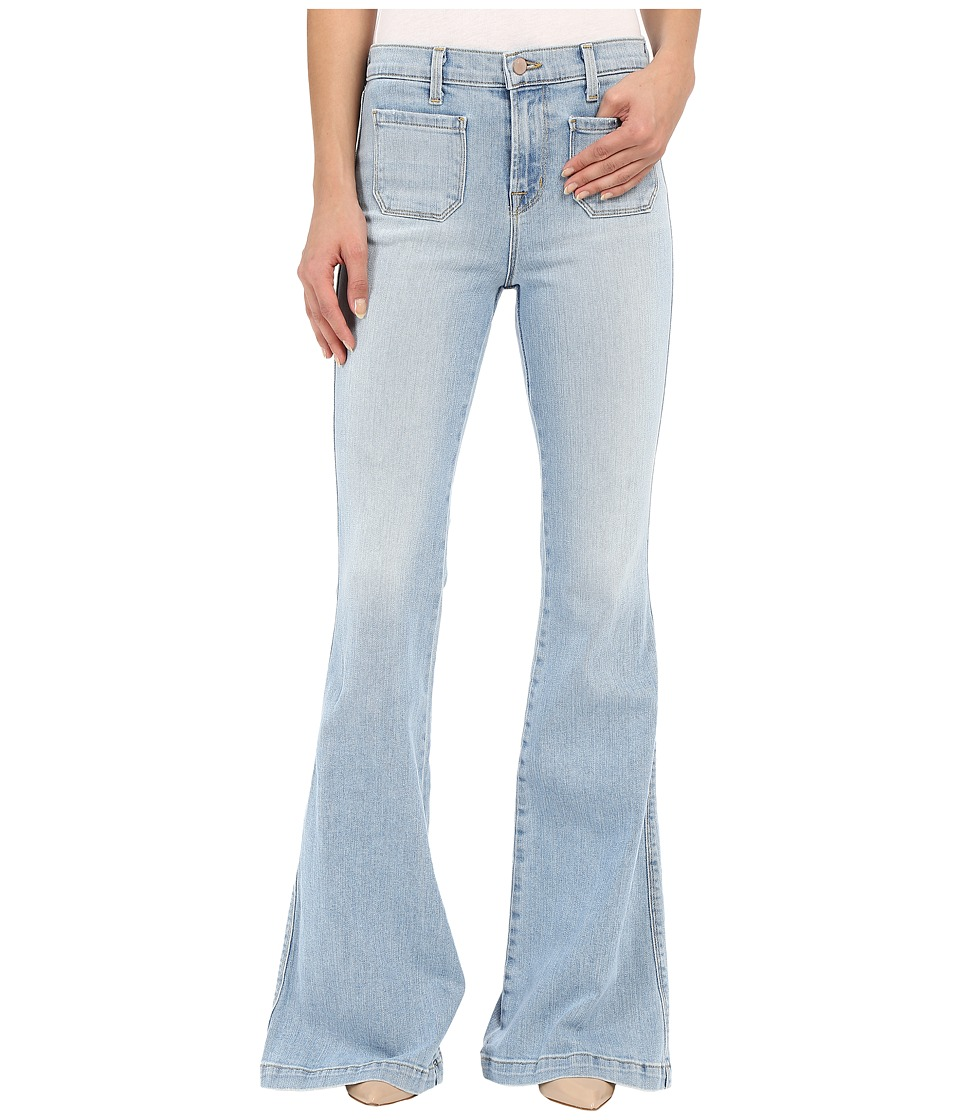 J Brand - Demi Patch Pocket Flare in Beach Line (Beach Line) Women's Jeans