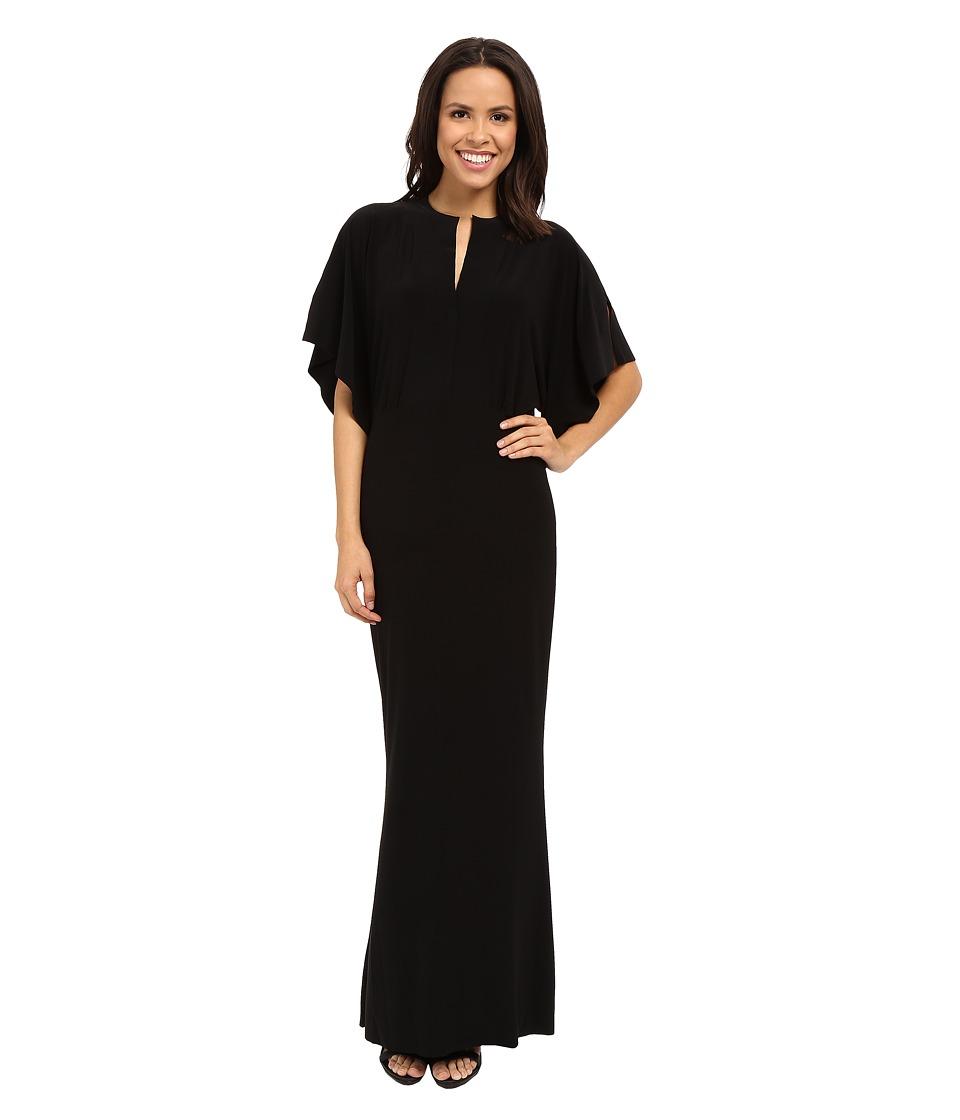 KAMALIKULTURE by Norma Kamali - Obie Gown (Black) Women's Dress