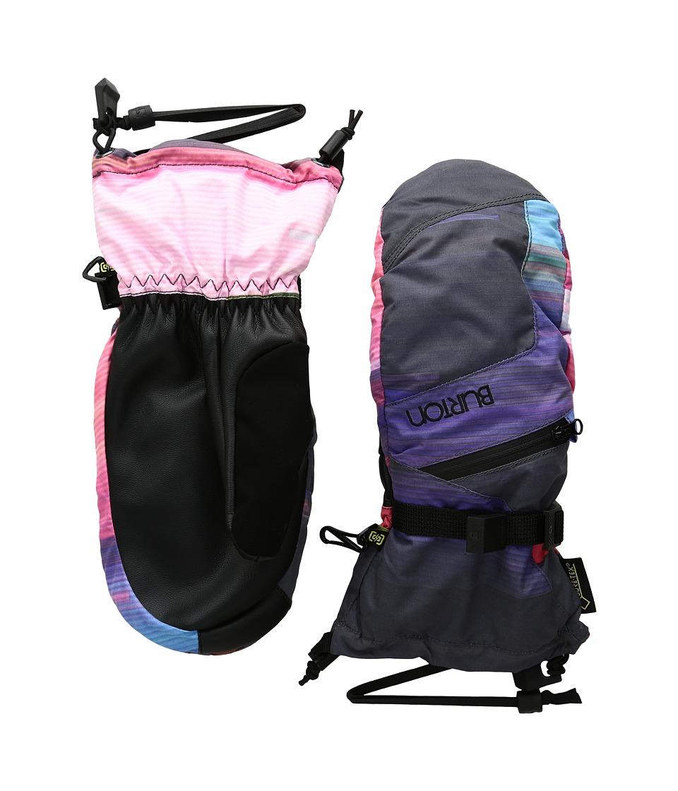 Burton - WMS GORE-TEX Mitt (Coral Flynn Glitch) Snowboard Gloves
