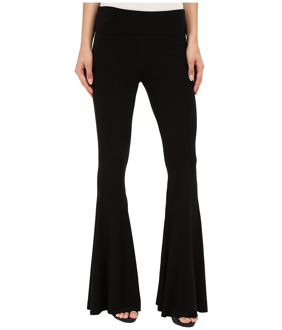 KAMALIKULTURE by Norma Kamali - Fishtail Pants (Black) Women's Casual Pants