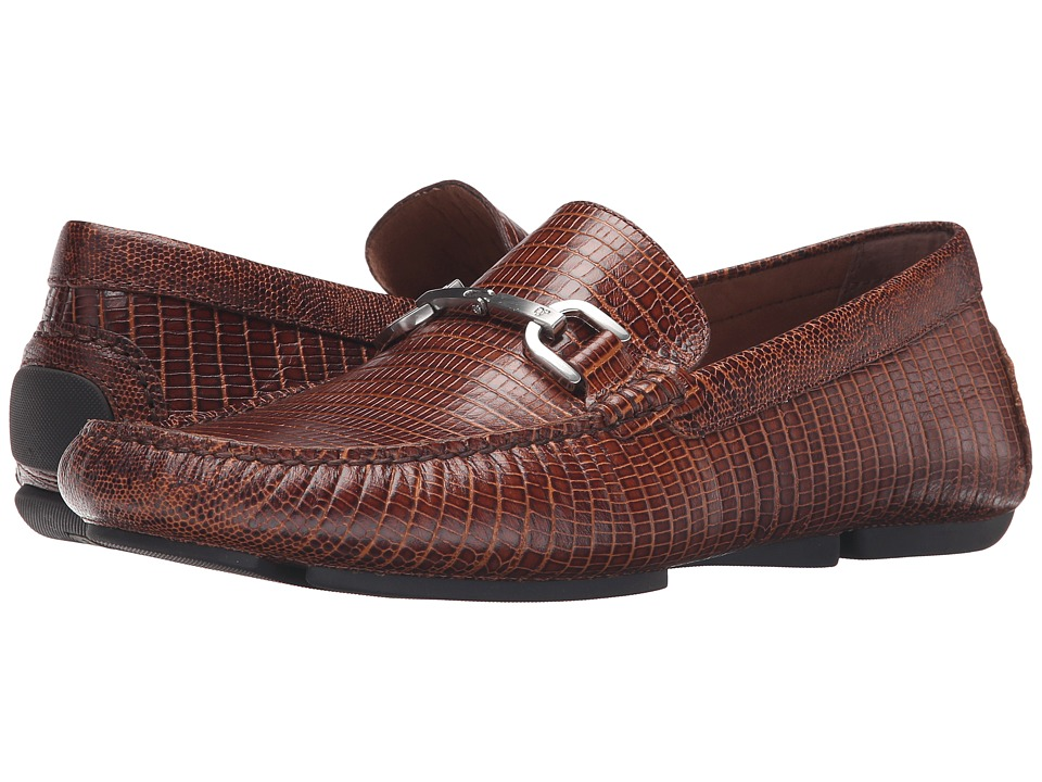 Donald J Pliner - Viro 2 (Brown) Men's Slip on Shoes