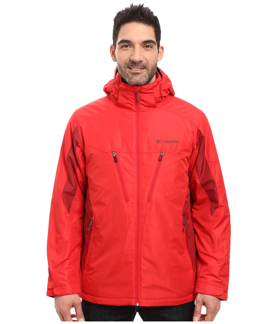 Columbia - Antimony IV Jacket (Mountain Red/Jester Red) Men's Coat