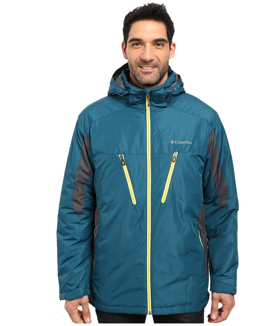 Columbia - Antimonytm IV Jacket (Deep Water/Graphite) Men's Coat