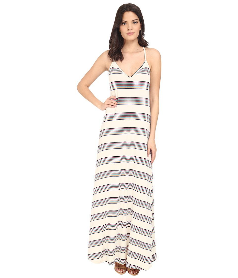 Brigitte Bailey - Dima Striped Maxi Dress (Off-White/Multi) Women's Dress