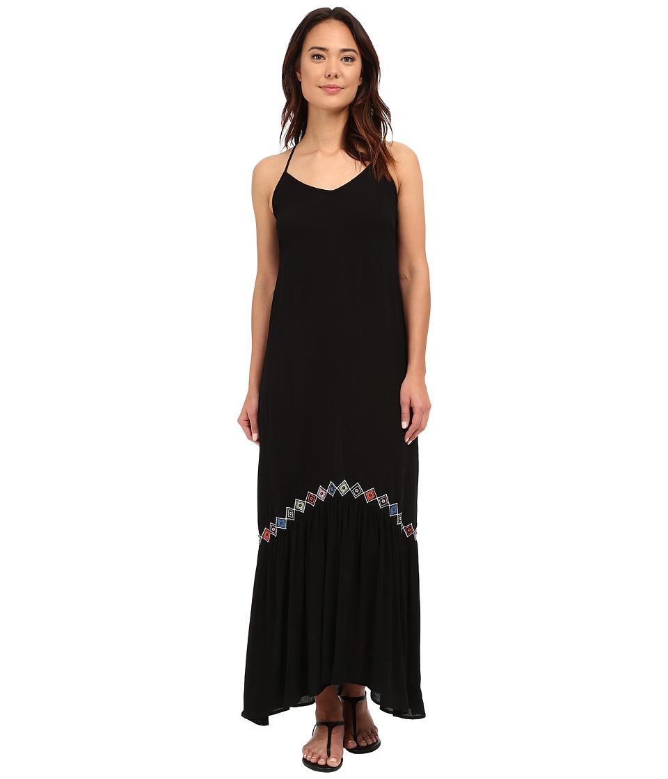 Brigitte Bailey - Eleni Maxi Dress (Black) Women's Dress