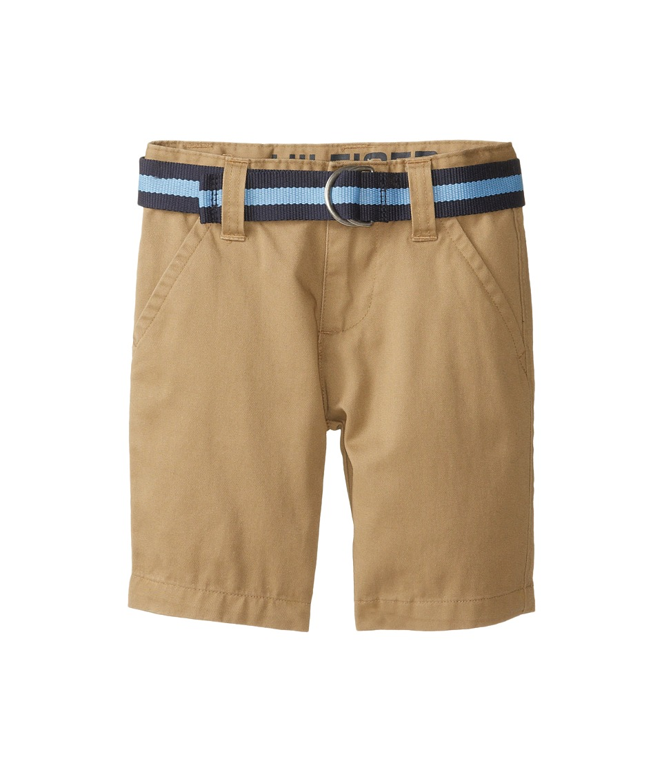 Tommy Hilfiger Kids - Chester Twill Shorts (Toddler/Little Kids) (TH Chino) Boy's Shorts