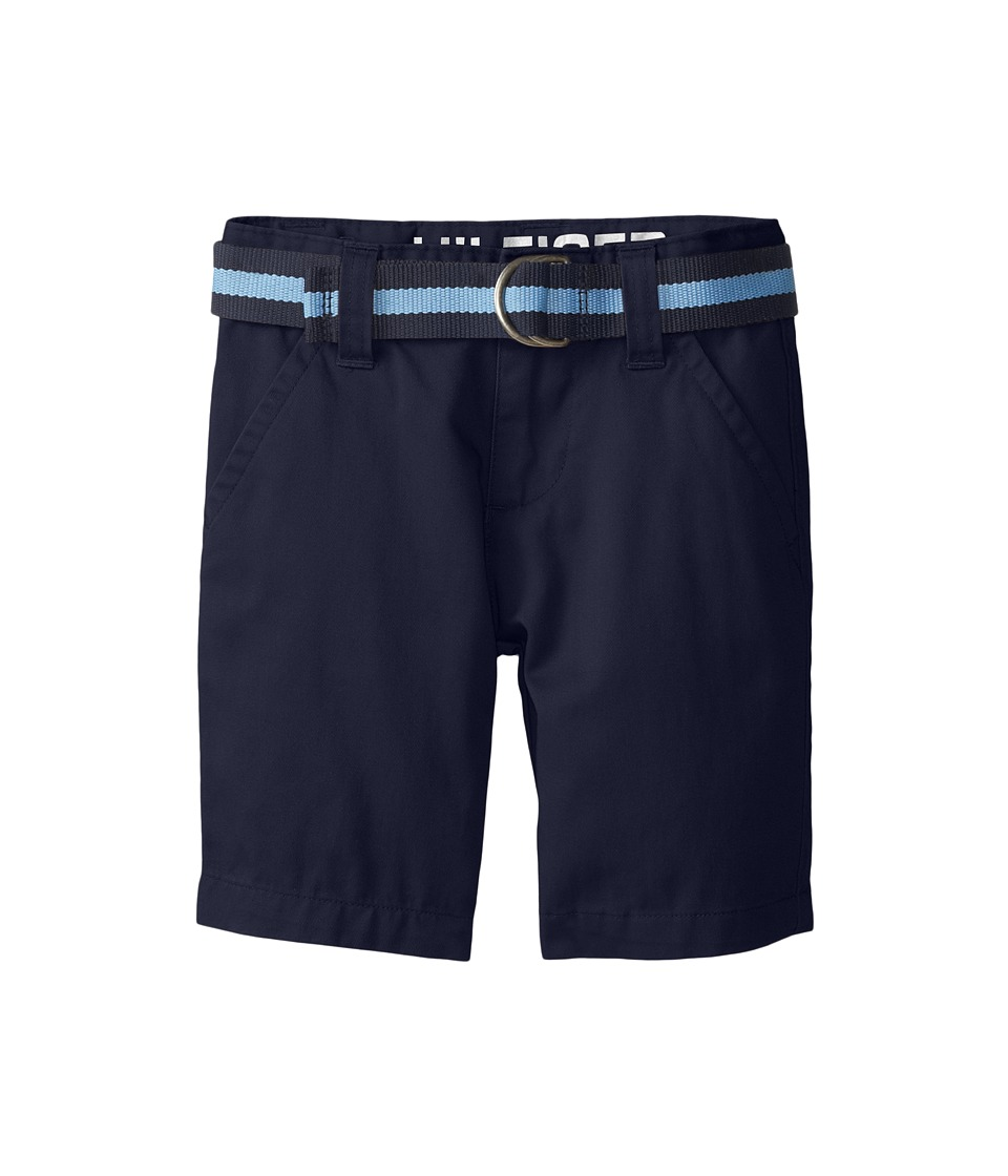 Tommy Hilfiger Kids - Chester Twill Shorts (Toddler/Little Kids) (Swim Navy) Boy's Shorts
