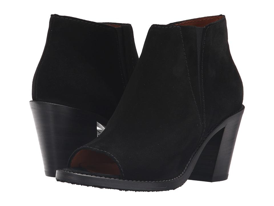 Aquatalia - Lana (Black Brush Oil Suede) Women's Shoes